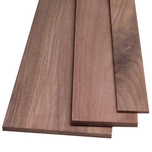 Walnut Hardwood - Walnut by the Piece, 1/4