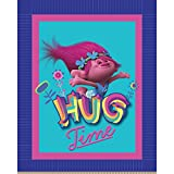 Dreamworks - Trolls 63869-C47C831 Trolls Hug Time No Sew Fleece Throw Kit, Pink