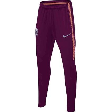 20b6fde63 Amazon.com   Nike 2018-2019 Barcelona Training Pants (Deep Maroon) - Kids    Sports   Outdoors