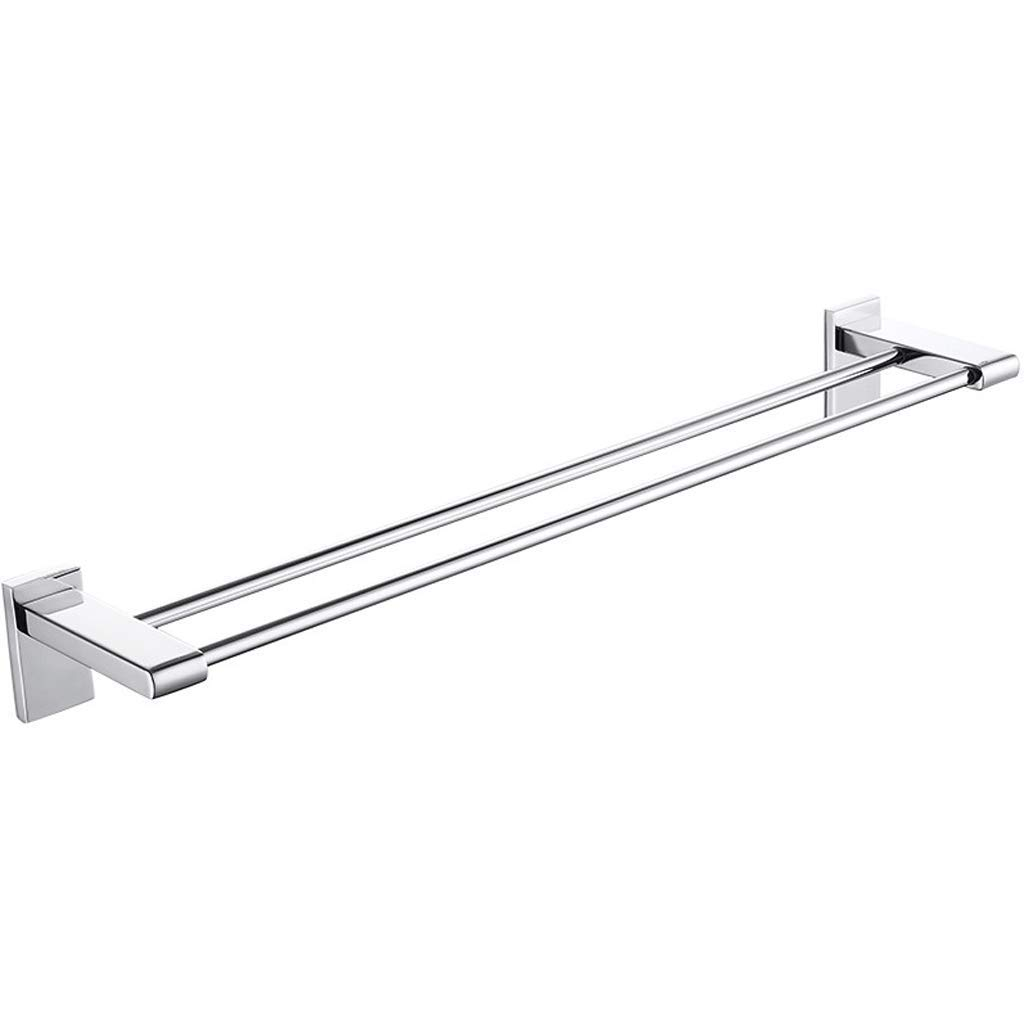 DYY Stainless Steel Towel Rack Bathroom/toilet/kitchen Bold Super Strong Load-bearing Perforated Towel Rod