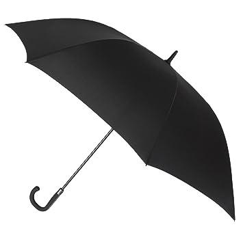 Elegante paraguas Golf de VOGUE® de gran calidad. Puño de diseño, curvo y