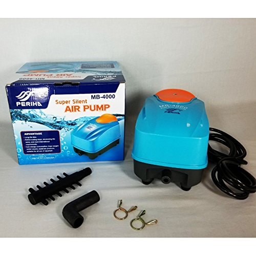 Periha Aquairum or Koi Pond Air Pump MB-18000 Series Super Silent Air Pump by Periha
