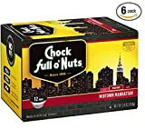 Chock Full o'Nuts Midtown Manhattan Single-Serve K-Cup, 72 Count