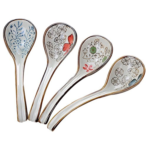 XDOBO Long handle Hook Spoon Soup Spoon Hand-crafted Tableware by xdobo (Image #7)