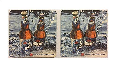 Labatt Blue Light Imported From Canada 20 Beer Bar Pub Coasters
