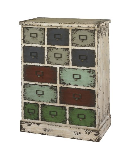 Powell Company 990-333 Parcel 13-Drawer Cabinet ()