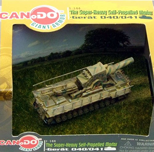 CAN.DO 1:144 Super Heavy Self Propelled Mortar Gerat 040/41 - Loki [PRE-Built/PRE-Painted]