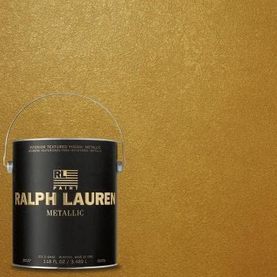 Ralph Lauren Paint Gold Regent Metallics Finish 1 Gallon House Paint Amazon Com