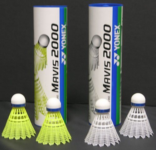 Yonex Mavis 2000 Nylon Tournament Shuttle (half dz tube) – DiZiSports Store