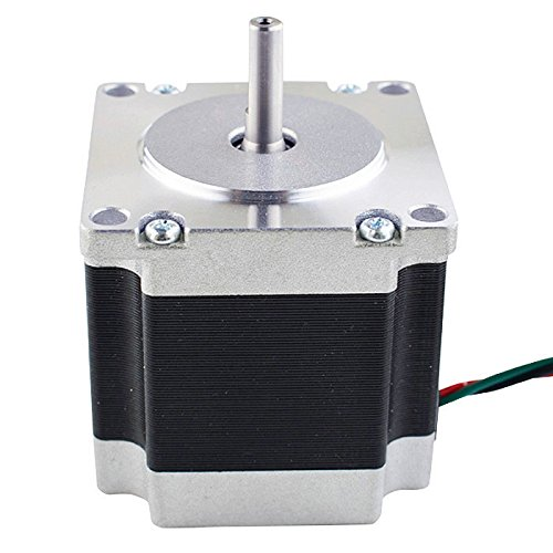 Nema 23 CNC Stepper Motor 2.8A 178.5oz.in/1.26Nm CNC Stepping Motor DIY CNC Mill by STEPPERONLINE (Image #1)