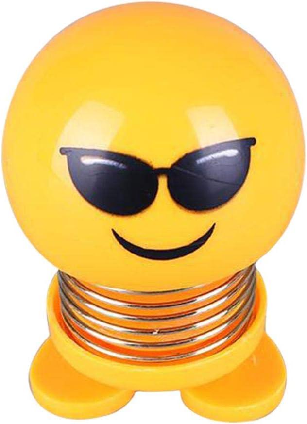 Muñeca con Cabeza de agitador, Emoji con Cabeza agitada, Adorno de ...