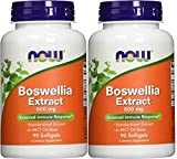 Now Foods Boswellia Extract 500 mg Softgels, 90 Count (90 Pack of 2) For Sale