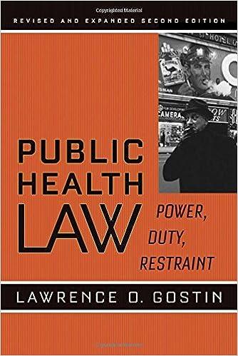 Power Restraint Public Health Law Duty