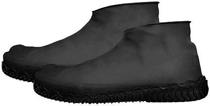 Waterproof Rubber Overshoe Rain Boot Shoe Covers Anti-slip Durable Reusable