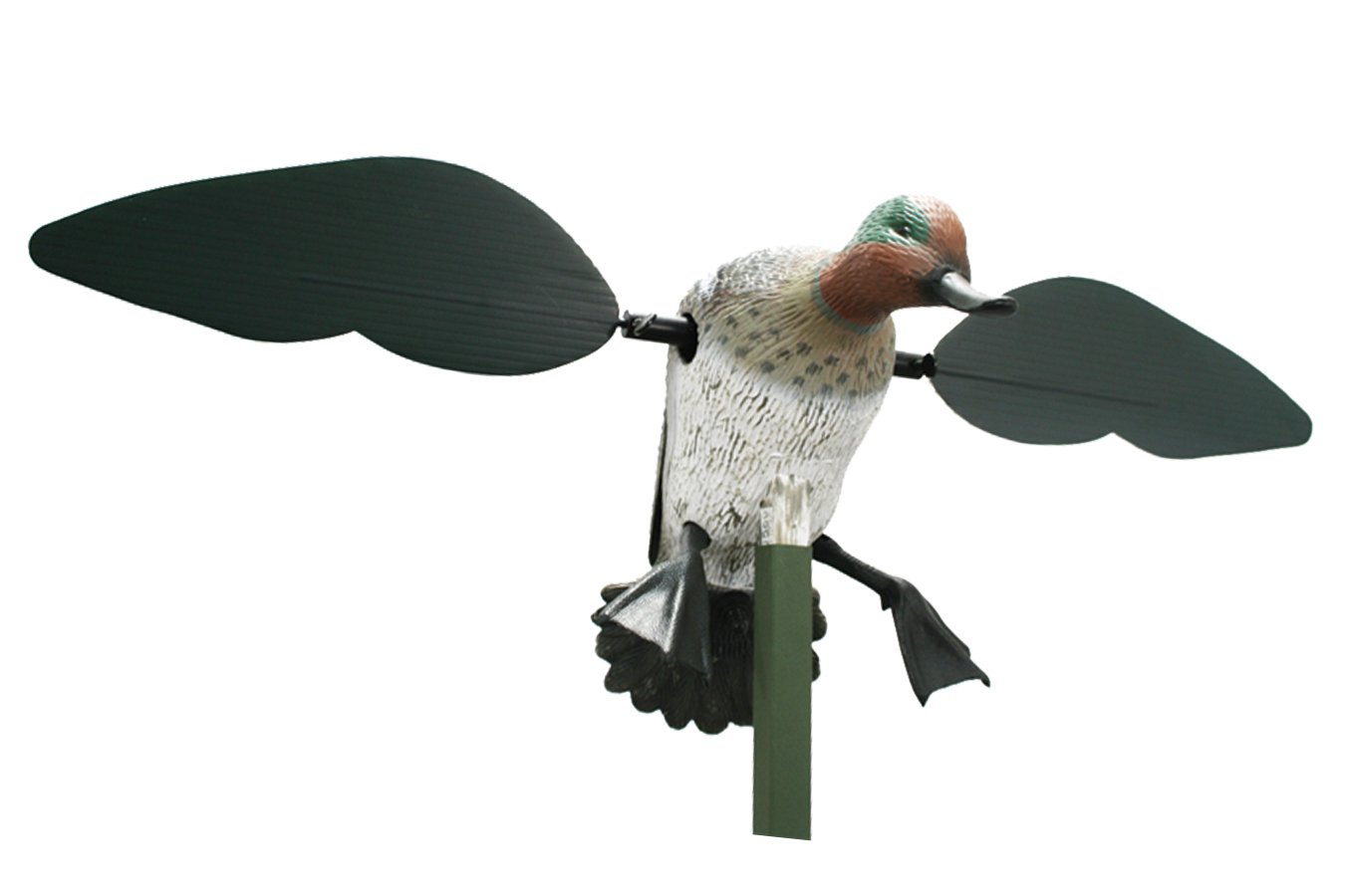 MOJO Outdoors Green Wing Teal Motion Duck Decoy by MOJO Outdoors (Image #2)