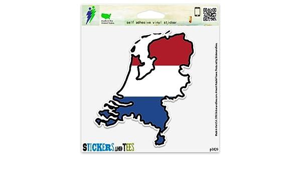 Sticker car moto map flag vinyl outside wall decal macbbook belgium