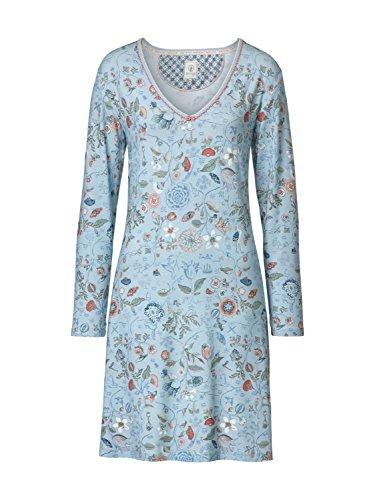 PiP Studio - Dana Spring to life Nightdress long sleeve blue | L