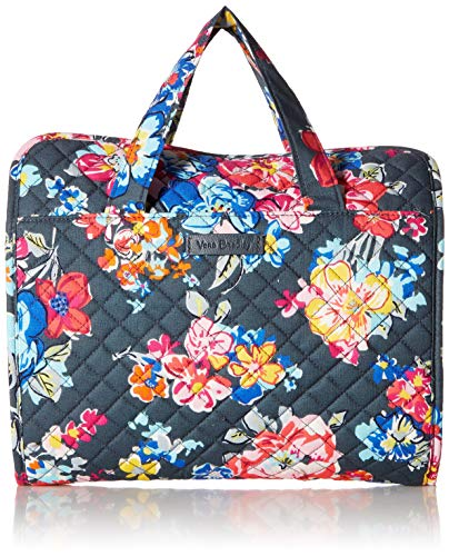 (Vera Bradley Iconic Hanging Travel Organizer, Signature Cotton, Pretty Posies)