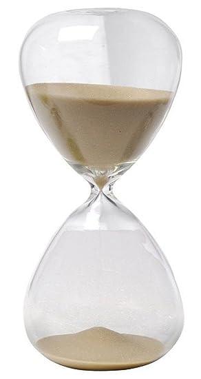 Winterworm - Reloj de arena de colores de cristal grande para la decoración del hogar: Amazon.es: Hogar