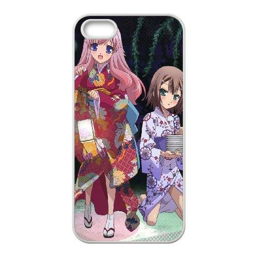 Baka And Test coque iPhone 4 4S Housse Blanc téléphone portable couverture de cas coque EBDOBCKCO10954