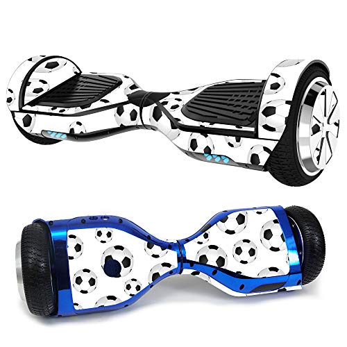 MightySkins Skin for Hover-1 Ultra Hoverboard Scooter - Soccer Ball | Protective, Durable, and Unique Vinyl Decal wrap Cover | Easy to Apply, Remove, and Change Styles | Made in The USA