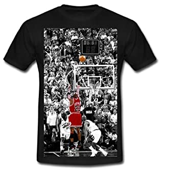 890a7a3f356159 XXXL-Air Michael Jordan Custom Design Mens Black Classic T-shirt   Amazon.co.uk  Sports   Outdoors