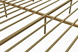DHP Stella Metal Bed, Gold, King