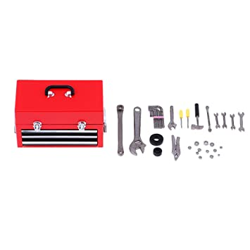 1//6 Tool Kit Model Repair Tools Accs for Hot Toys 12inch Action Figure Toys