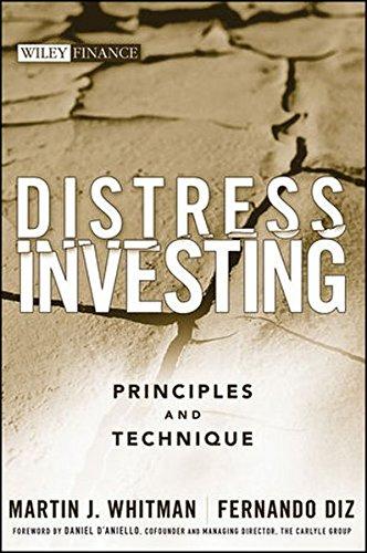 Distress Investing Principles Martin Whitman product image