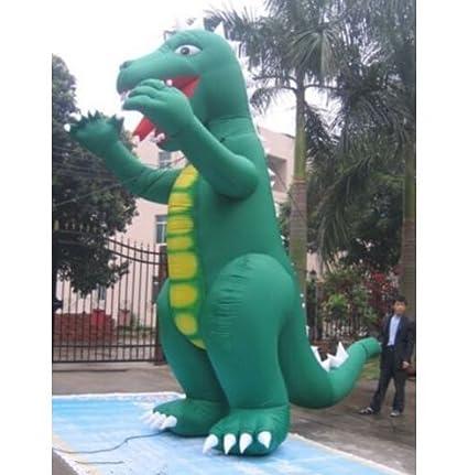 BAOSHISHAN 30 Godzilla hinchable gigante con soplador Publicidad ...