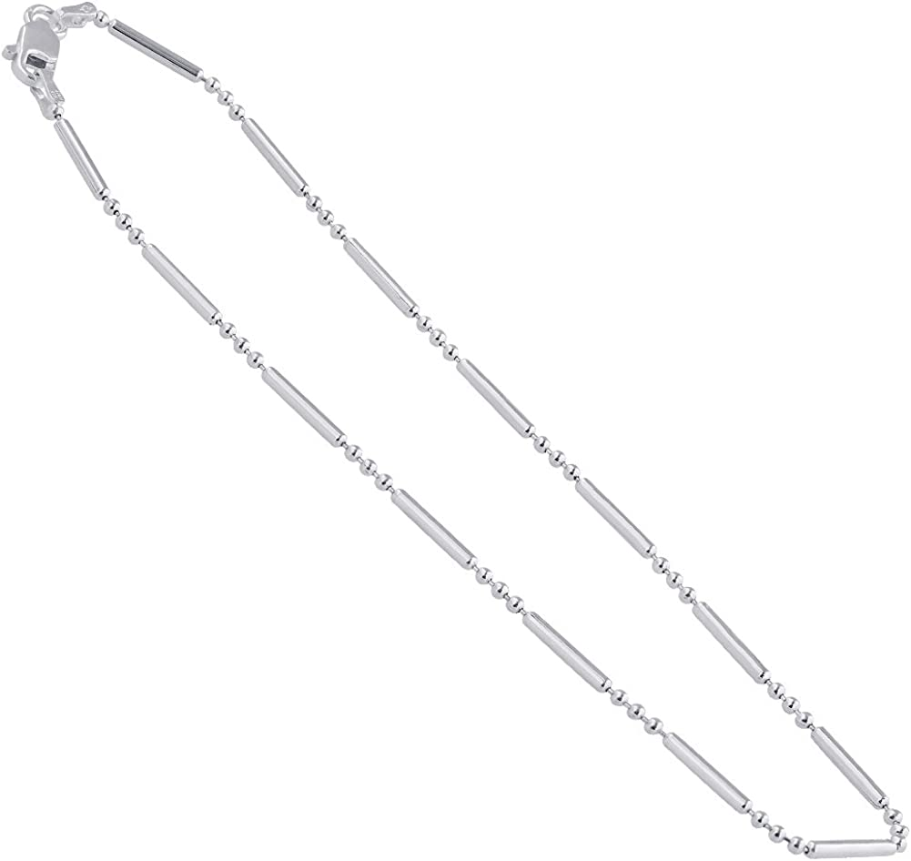 Sterling Silver Womens 1mm Box Chain Two ADMIT ONE Tickets Pendant Necklace