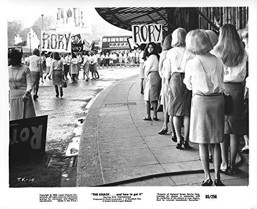 The Knack original 8x10 photo 1965 girls in protest Trafalgar Square London (Square London Trafalgar)