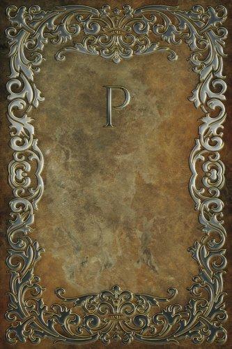 Read Online Monogram P Notebook (Monogram Rustic 150 Lined) (Volume 16) PDF