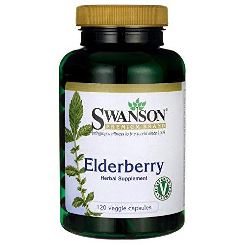 Swanson Elderberry 575 120 Caps product image