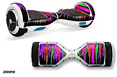 247 Skins Protective Skin Wrap for Self Balancing Hoverboard Board Unicycle Decal X1 - Drips