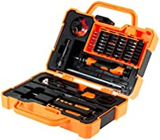 JM-8139 Professional Electronic Precision Screwdriver Set Hand Tool Box Set Opening Tools for Phone PC Repair Tools Kit