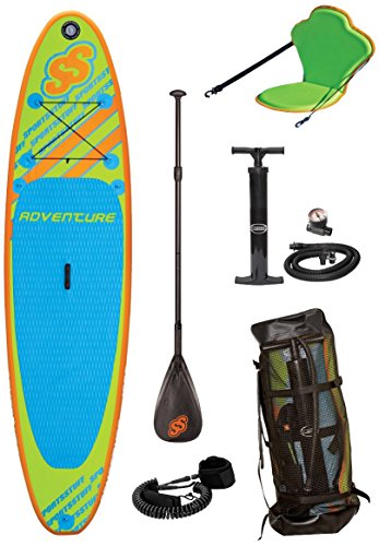 Sportstuff 1030 Adventure Stand Up Paddleboard With Accessories (Inflatable Board Paddle)