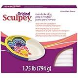 Sculpey - Pâte à Sculpter - Original Sculpey - 795 gr - Blanc