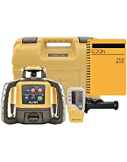 Topcon RL-H5A Self Leveling Horizontal Rotary Laser with Bonus EDEN Field Book| IP66 Rating Drop, Dust, Water Resistant| 800m Construction Laser| Includes LS-80L Receiver, Detector Holder, Hard Case (RL-H5A)
