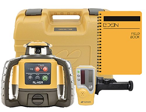 (Topcon RL-H5 Series Self Leveling Horizontal Rotary Laser with Bonus EDEN Field Book (RL-H5A Rechargeable w/LS-80L))