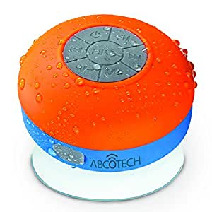 Bluetooth Shower Speaker – FM RADIO – Water Resistant – Wireless and Hands-Free speaker phone with Suction Cup – Auto Pairing Feature – Compatible with all Bluetooth devices
