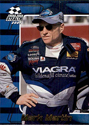 2001 NASCAR Press Pass Stealth Holofoils #10 Mark Martin