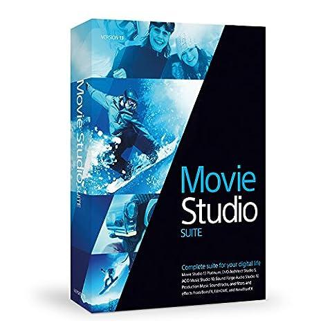 Sony Movie Studio 13 Suite [OLD VERSION] (Sony Sound Forge 11)