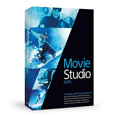 Sony Movie Studio 13 Suite [OLD VERSION] (Recording Video Software)