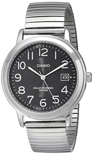 Casio MTP S100E 1BVCF Easy Read Stainless
