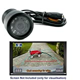 Amicikart 8 LED Night Vision Reverse Parking Camera for Cars
