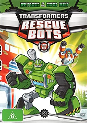 Transformers Rescue Bots Return of the Dino Bot DVD