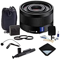 Sony Sonnar T FE 35mm F2.8 ZA E-mount NEX Camera Lens Bundle. Value Kit w/Acc