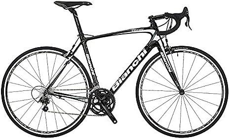 Bianchi Intenso Veloce carbono bicicleta de carretera negro/blanco ...