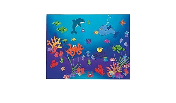 DIY Under the Sea Sticker Scenes Fun Express 57//9238